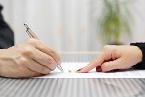 تقاضای طلاق از طرف زن